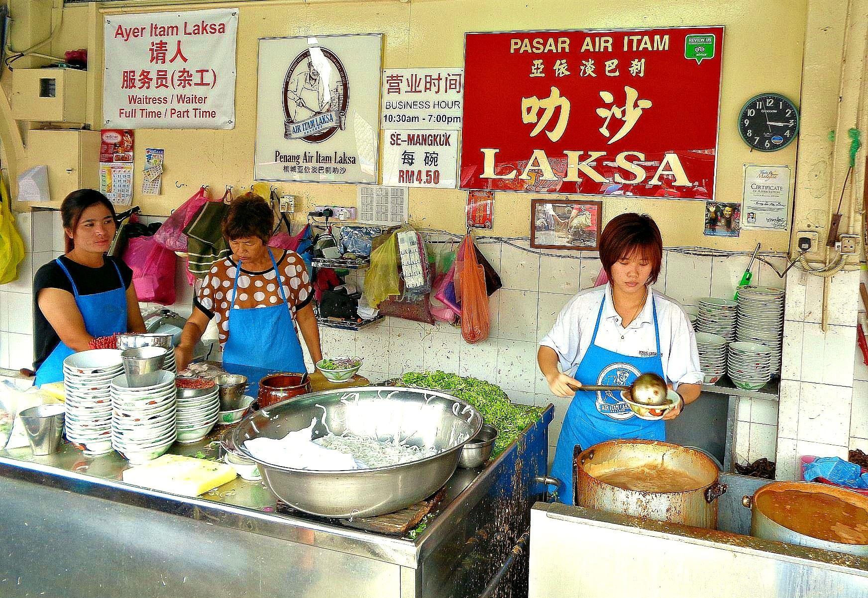 槟城66年历史的著名laksa档宣布停业,顾客依依不舍!