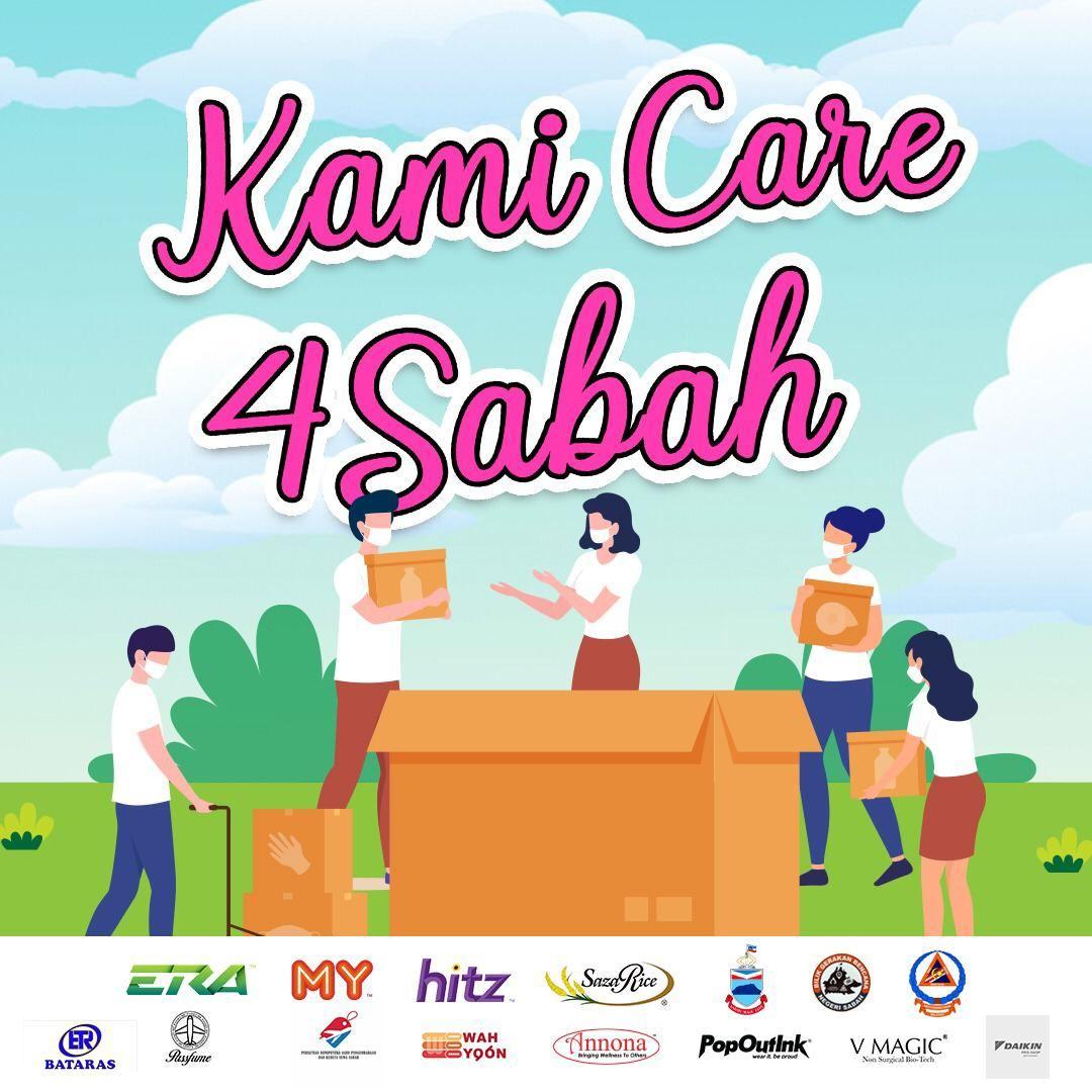 沙巴astro电台my,hitz和era启动#kamicare4sabah慈善活动