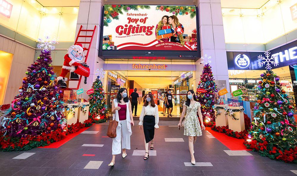 圣诞节狂欢!「梦想与现实」时装展就在fahrenheit商场!