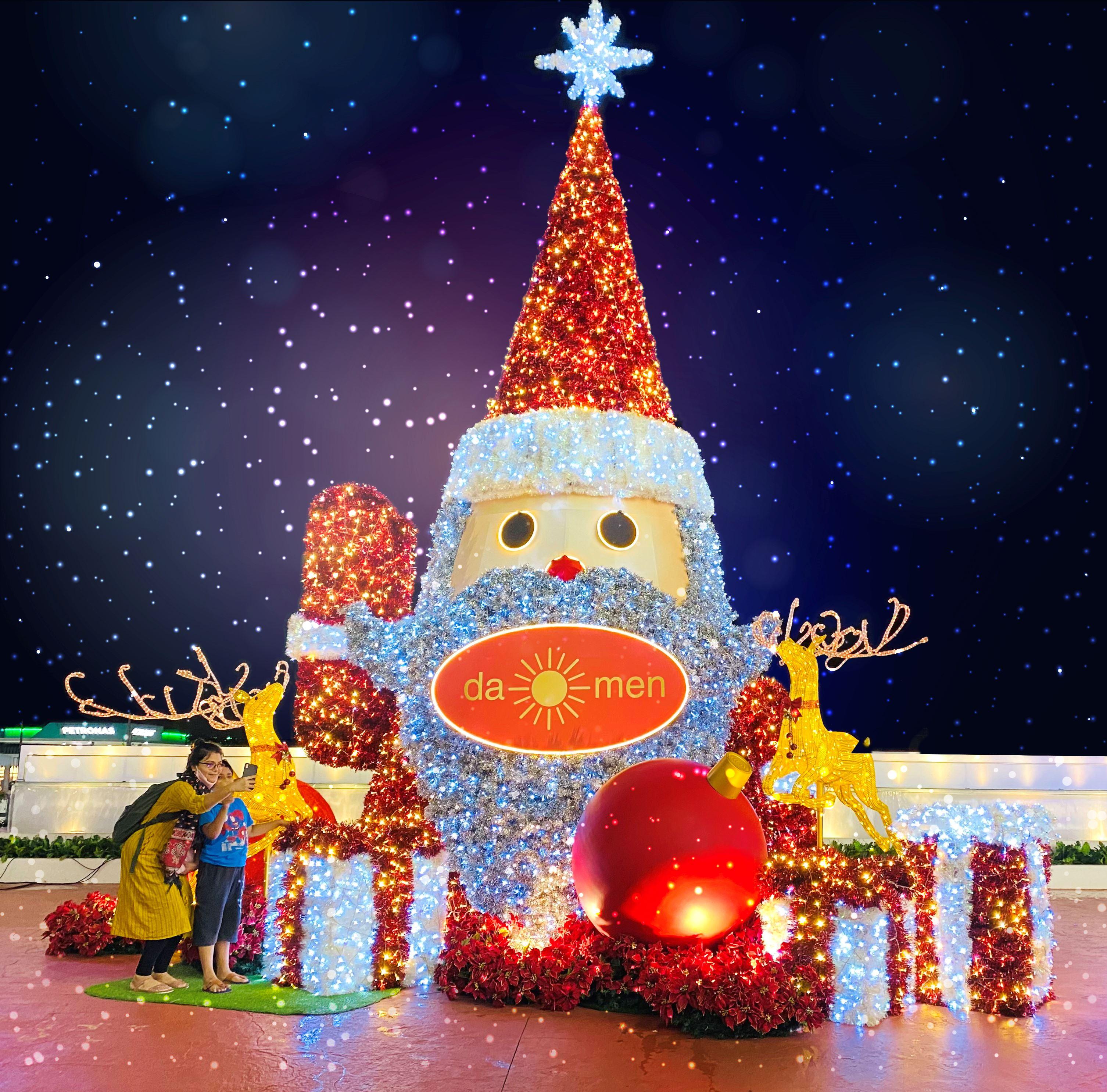 圣诞狂欢来了!pavilion购物中心以不同主题一起与民众欢庆圣诞节!