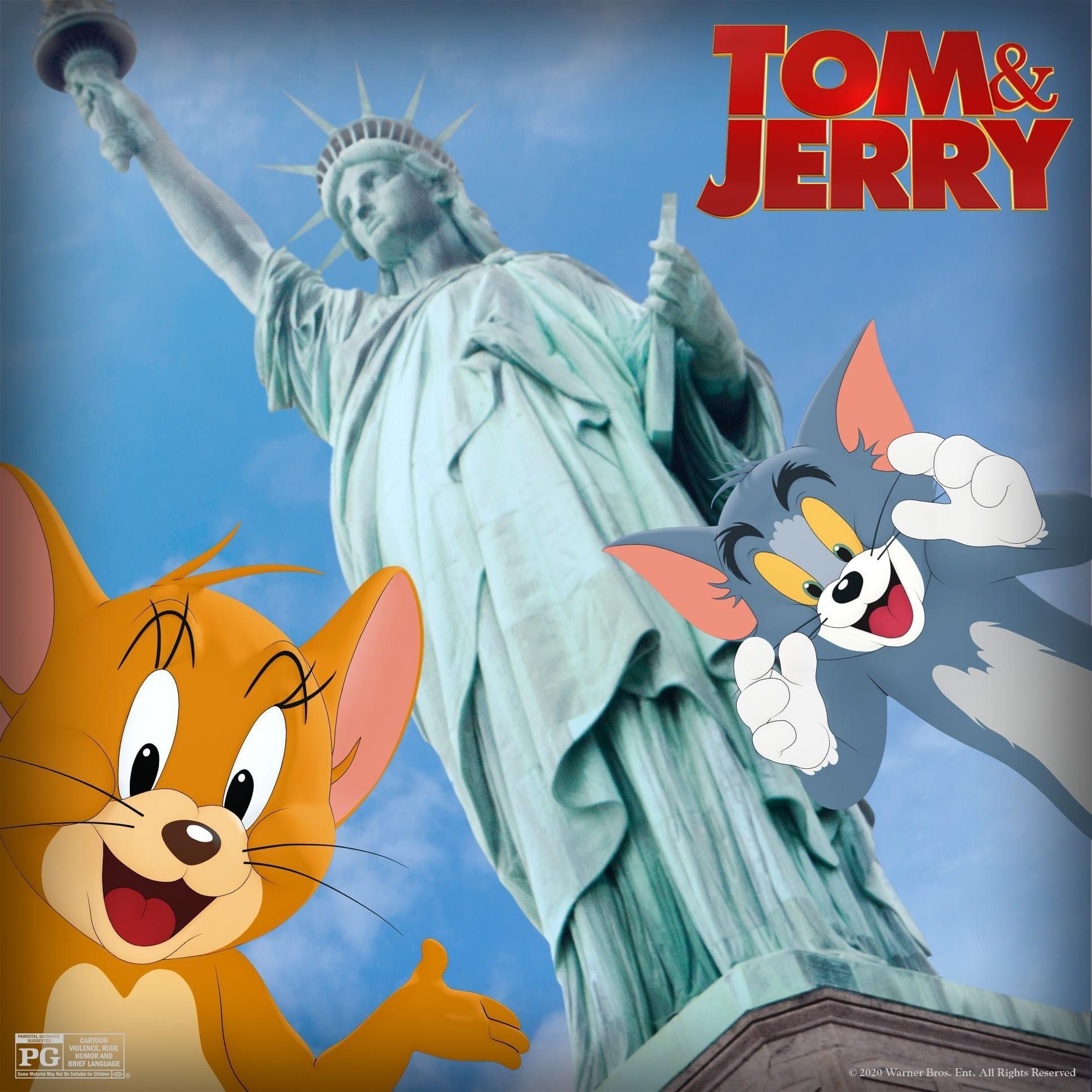 tom and jerry 真人版电影来了!2021大马上映!