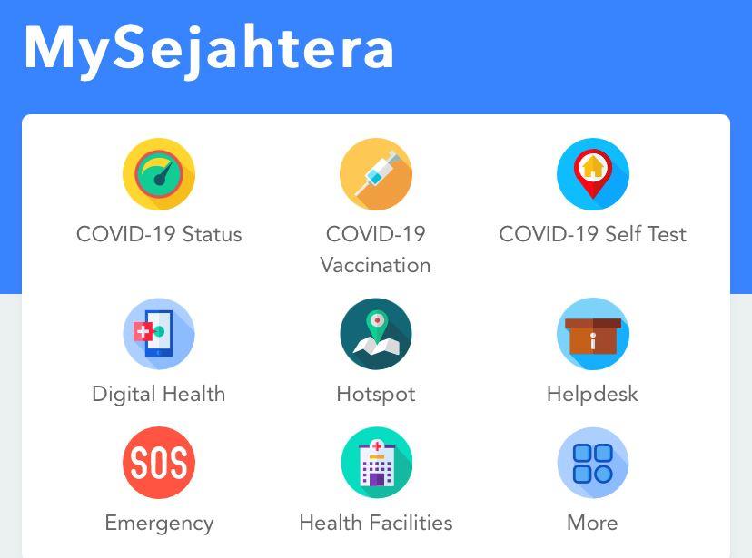 mysejahtera推出新功能!能呈交自行检测报告