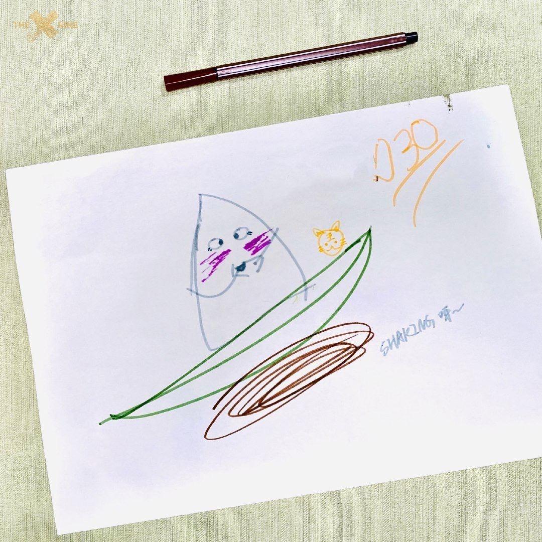 the9全员绘画粽子庆端午节!画工成果抽象又可爱!