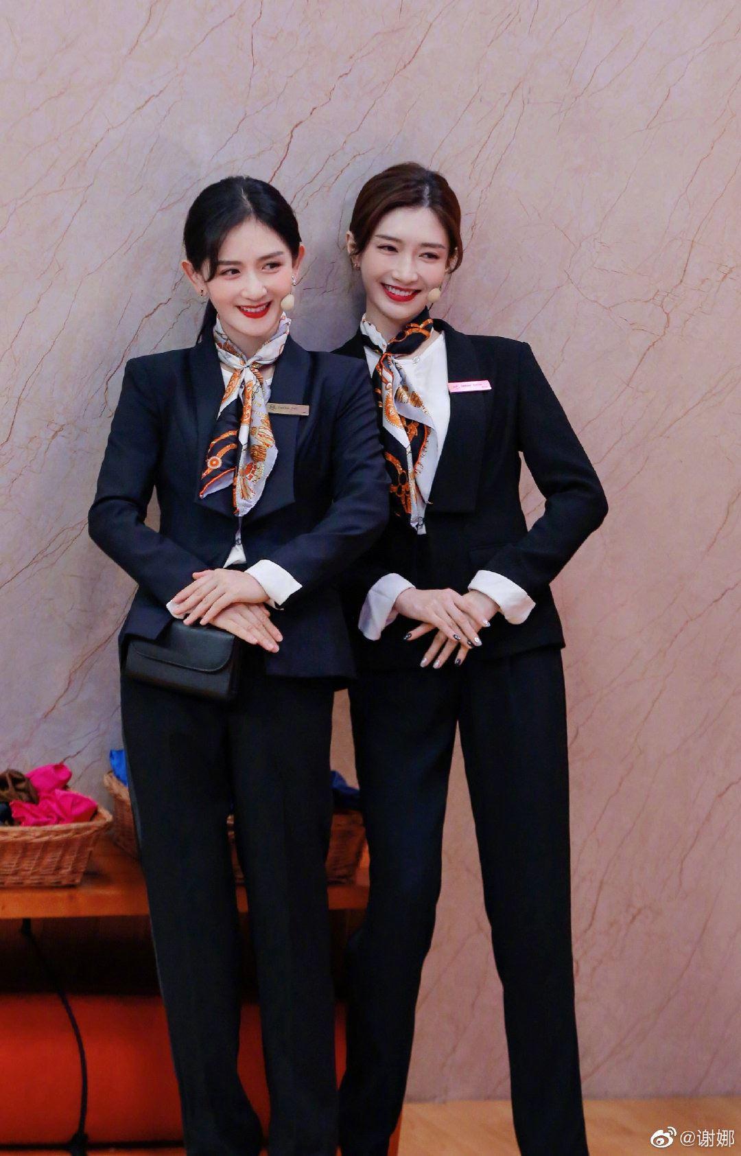 """《三十而已》真假""""王漫妮""""?谢娜与江疏影穿同款制服!"""