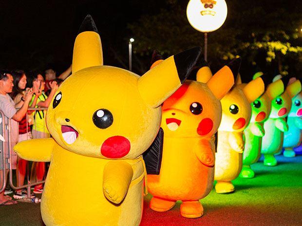 皮卡丘游行又来啦!圣淘沙将举办pokemon嘉年华!