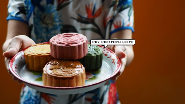 Your Favourite Mooncake Can Tell You If You're Smart? Really Ah?