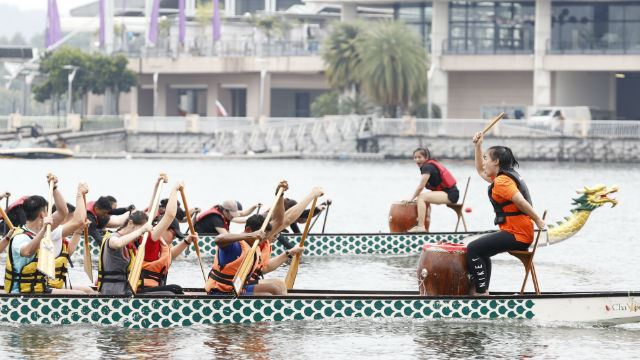Get into A Dragon Boat for Charity!