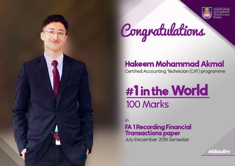 this malaysian accountancy student just made history with the highest exam score in the world