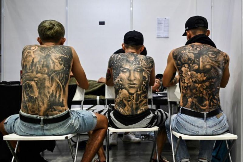 malaysia tattoo expo got coverage, unlike the models