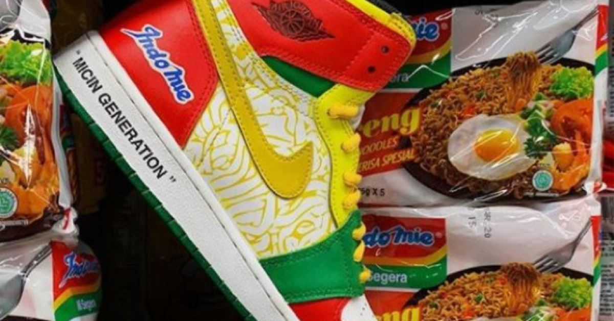 fan-made indomie x nike air jordan 1 yin yang design goes viral