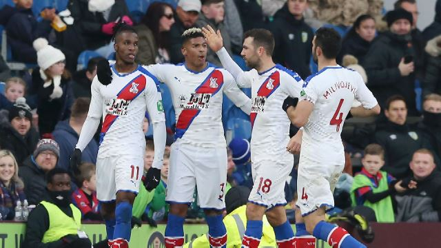 Matchweek 14: Burnley 0 - 2 Crystal Palace