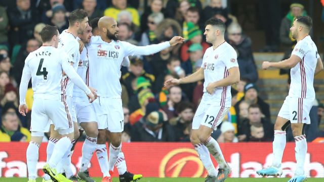 Norwich City 1-2 Sheffield United