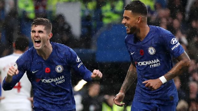 MD 12: Chelsea 2-0 Crystal Palace