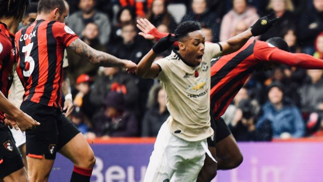 Bournemouth 1-0 Manchester United