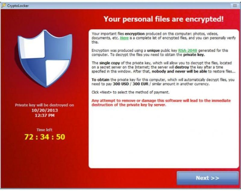 your data ran some where? it might just be ransomware