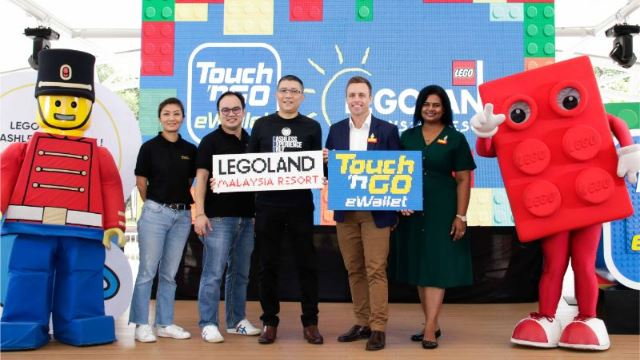 Not Having Cash At Legoland Malaysia Is No Longer An Excuse, thanks to TNG!