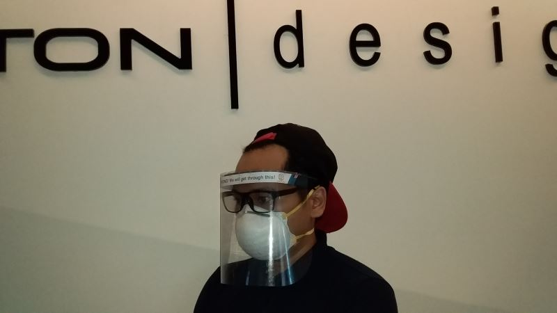 proton is producing thousands of face shields to help the frontliners