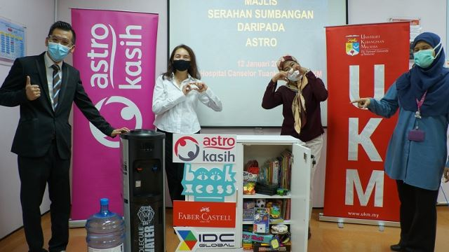 Astro Kasih Brings Fun Learning To Paediatric Wards Nationwide
