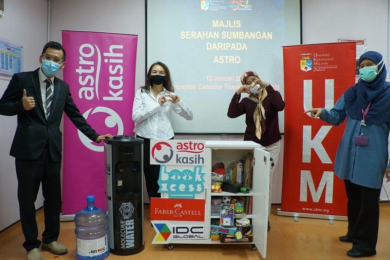 astro kasih brings fun learning to paediatric wards nationwide