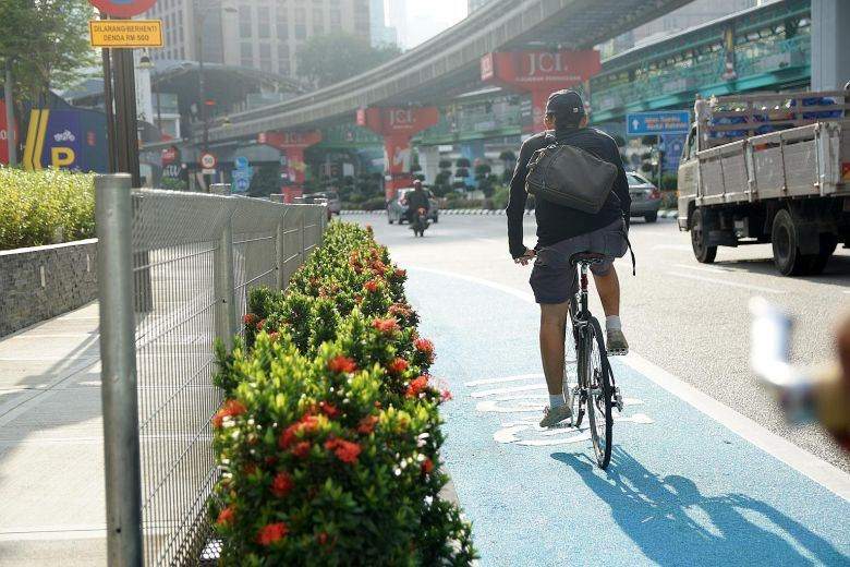 mco 2.0: cyclists warned to abide by sops, not to cycle in groups