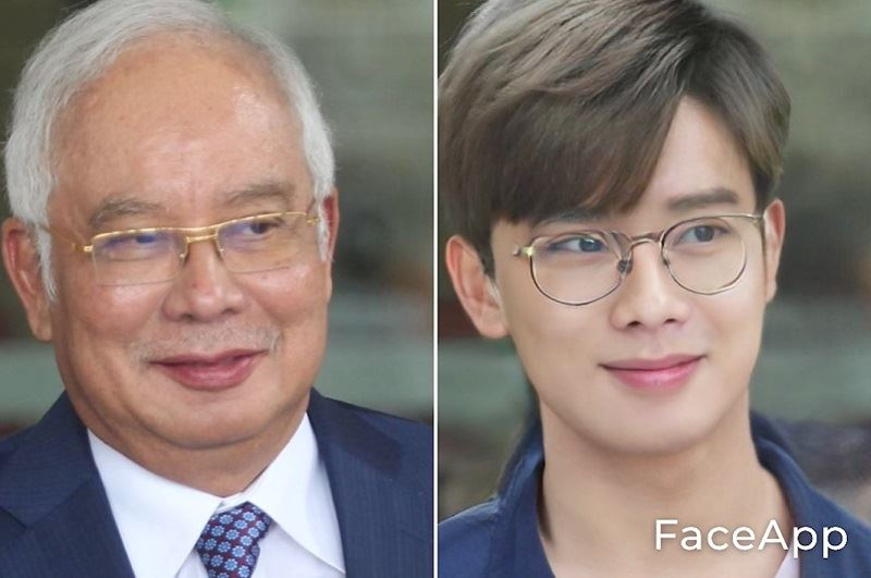 check out what world politicians look like with the 'oppa' filter