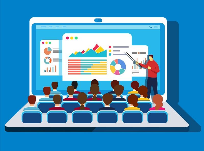 online lessons: a teacher