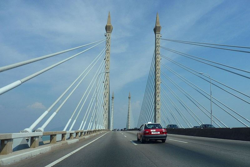 plus says penang bridge is safe for public use, following yesterday's cable-on-fire incident