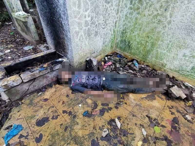 man found dead at old building in sabah