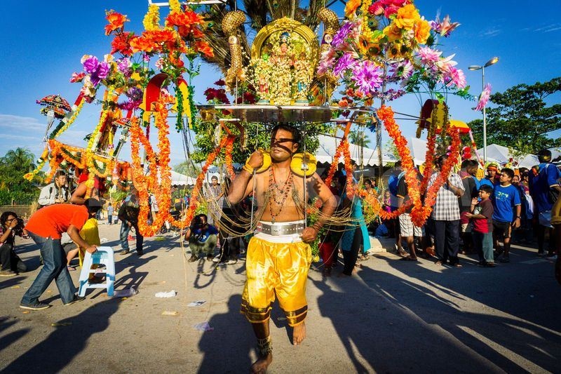 penang's annual thaipusam celebrations called off for first time in over a century