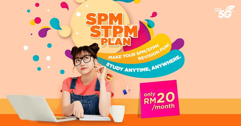 university students can now join in on u mobile's 2021 spm/stpm special data package