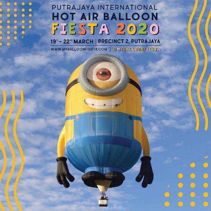 the hot air balloon fiesta is back in putrajaya!