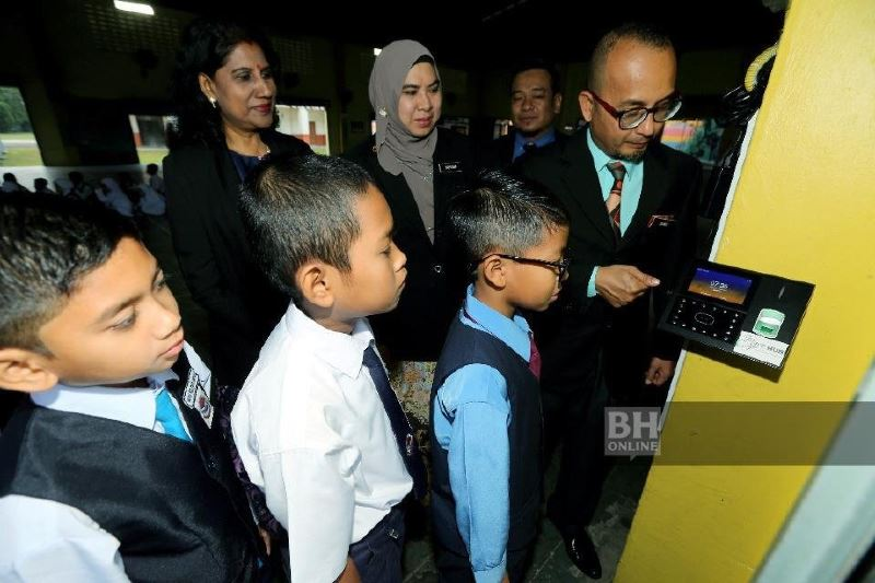 facial recognition is now a thing in johor school