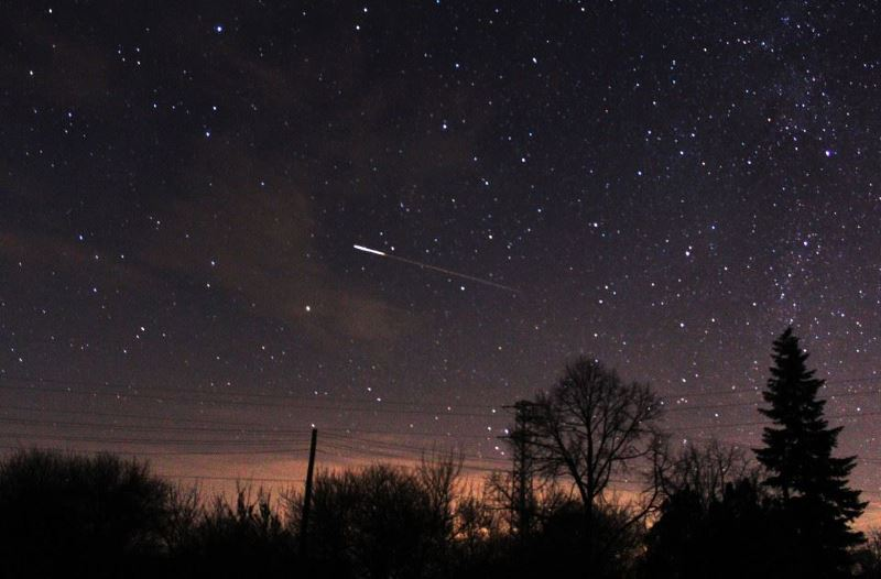 malaysians welcomed 2020 with a meteor shower