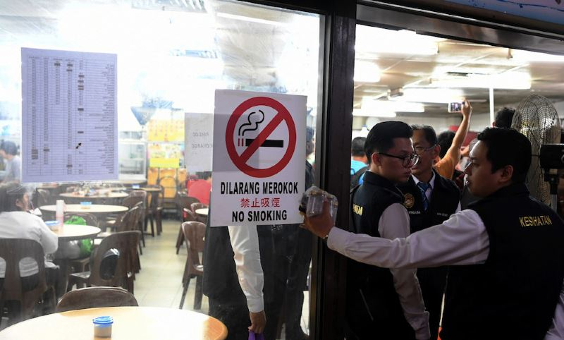 did you really think the smoking ban was just talk?
