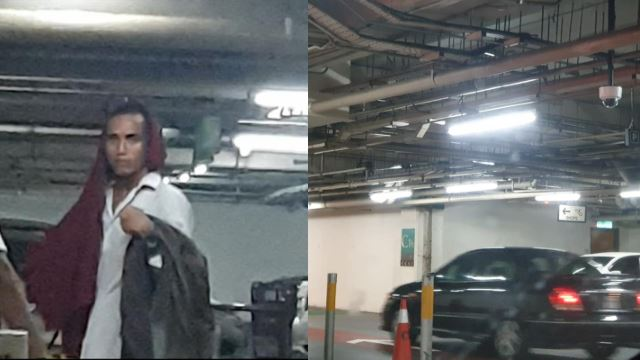 A Stranger Tried To Open This Woman's Car Door At A Mall Carpark!