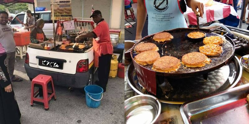 this murtabak seller creatively converted a kancil into a mobile food truck!