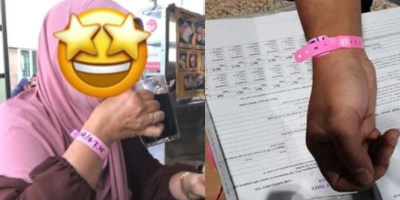 investigation against makcik with the pink kkm bracelet continues