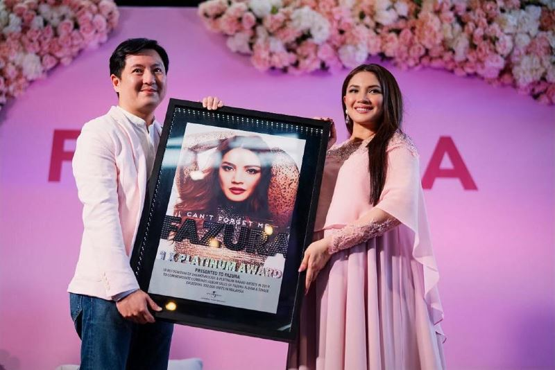 fazura's 'can't forget me' hits more than 7 million streams worldwide!