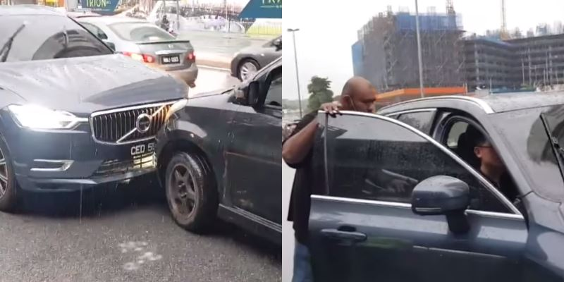 intoxicated driver crashed into myvi after driving against traffic in kl
