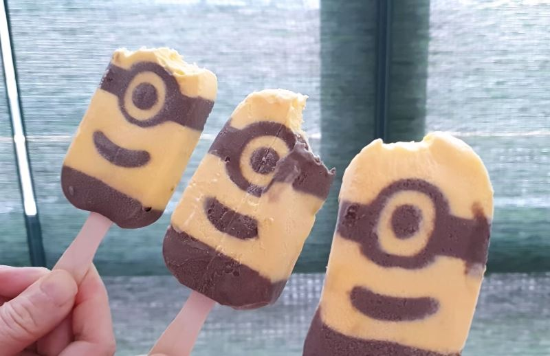 this new minion shaped ice-cream is adorable!