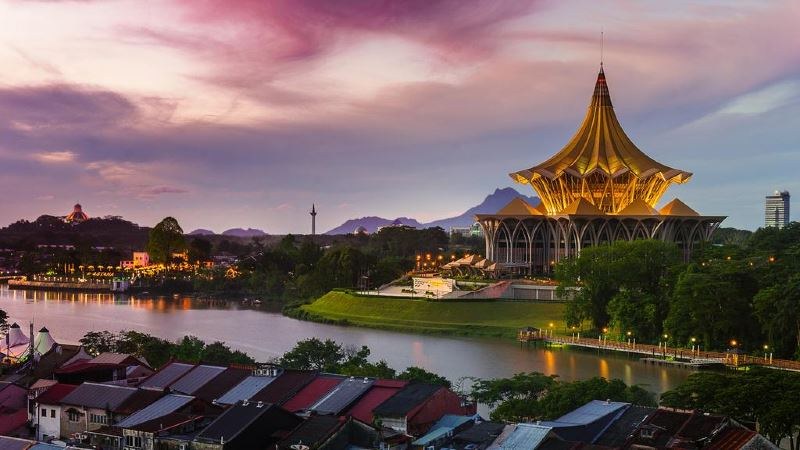sarawak, johor, and penang are among the most hospitable cities in malaysia!