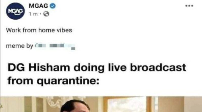 police investigates those behind social media post mocking dg hisham