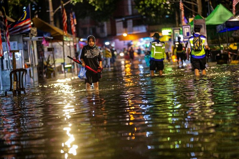 were you stuck in yesterday's flash floods in kl?