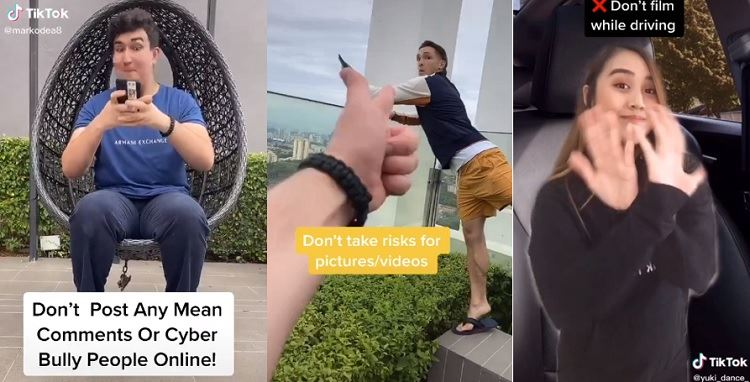 tiktok launches new challenge to promote creating safe content