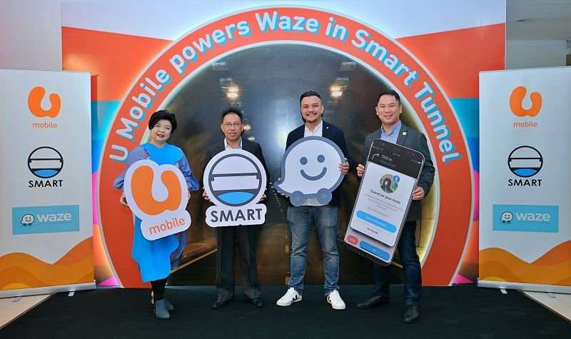 you can now use waze in the smart tunnel
