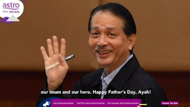 Happy Father's Day To One of the Busiest Men In Malaysia!