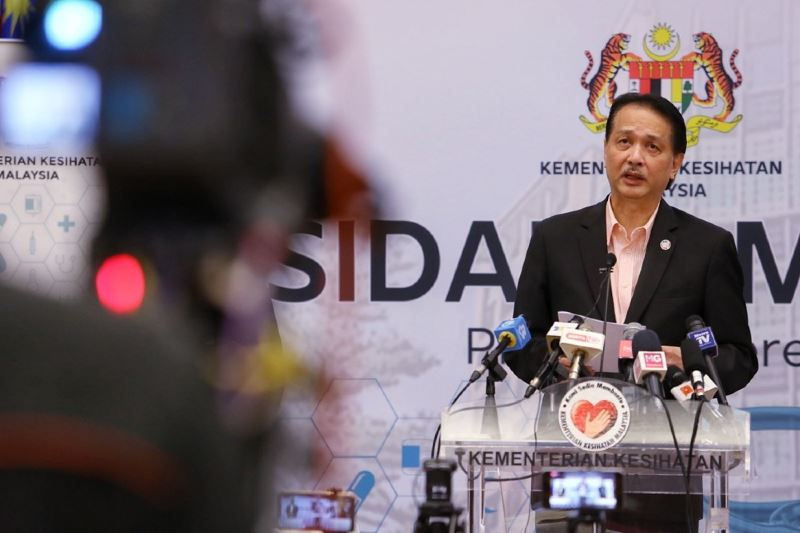 no more daily press conference from dg hisham starting this week!