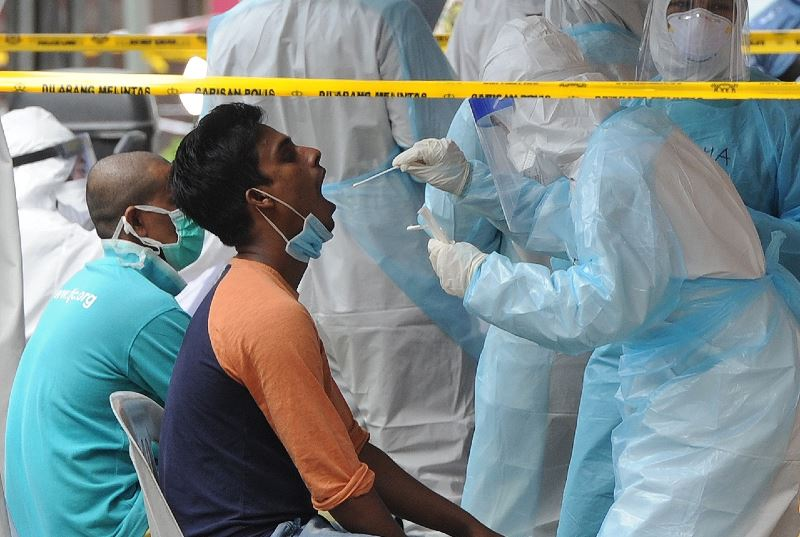 be careful! health authorities will only conduct house-to-house swab tests at emco areas