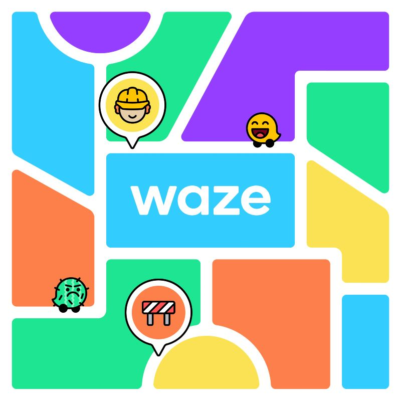 waze now has a new look and you can even share your moods with other people!
