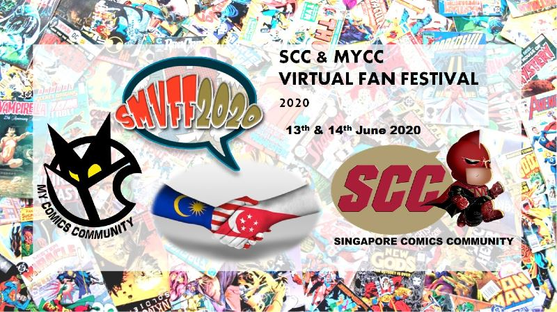malaysia and singapore joining forces for the very first virtual comic-con